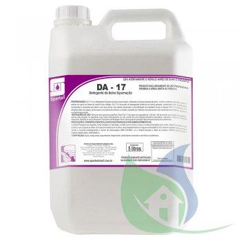 DA-17 - Deterg Baixa Espumação - GALÃO 5L - SPARTAN