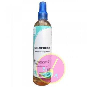 Solvfresh Detergente Spray 300 Ml Spartan Limpeza Roupas