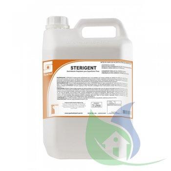 STERIGENT - Desinfetante Quartenário - Galão 5L - SPARTAN