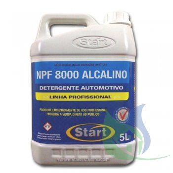 NPF 8000 Desengraxante Alcalino - 5L - START