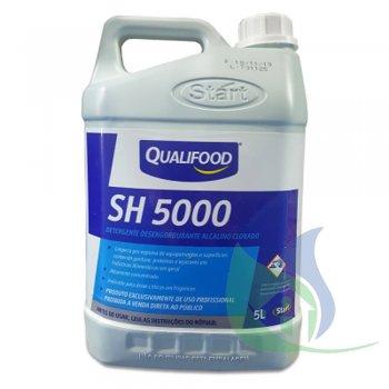 SH 5000 PLUS - Detergente Alcalino Clorado 5L QualiFood Start