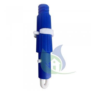 Ponteira para Extensor c/ Anel e Trava - Bralimpia PE100V
