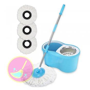 Balde Spin Mop Centrifuga 360 Azul