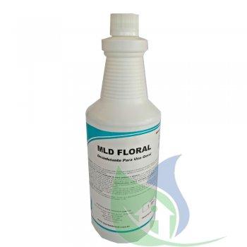 MLD FLORAL - Limpador Desinfetante - 1 Litro - SPARTAN