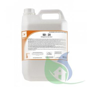 SD-20 - Detergente Uso Geral - Galão 5L - SPARTAN