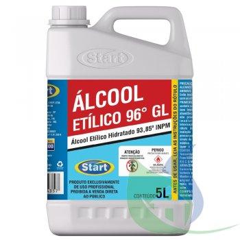 Álcool Etílico 96% - Galão 5L - START