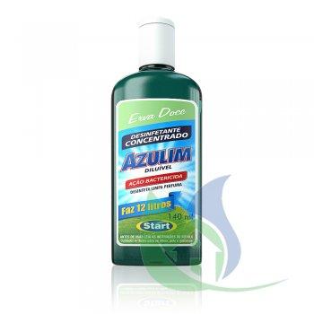 Desinfetante Azulim Diluível 140ml Erva Doce - Start (Faz 12 Litros)