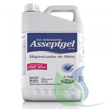 ASSEPTGEL CRISTAL C/ ALOE VERA 70% 4,5KG - START