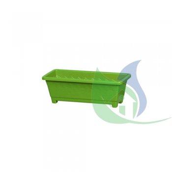Floreira Média Verde 3,5L - PLASNEW