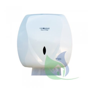 Dispenser Velox Papel Toalha Interfolhas Branco - PREMISSE