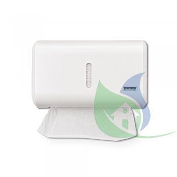 Dispenser Toalheiro Compacto Urban Branco - PREMISSE