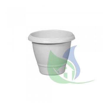 Vaso Redondo Médio Marmorizado 14,5L - PLASNEW