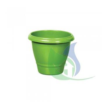 Vaso Redondo Médio Verde 14,5L - PLASNEW