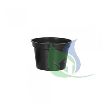 Vaso Redondo Pequeno Preto 5,5L - PLASNEW