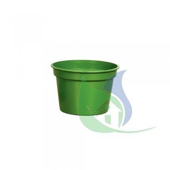 Vaso Redondo Pequeno Verde 5,5L - PLASNEW