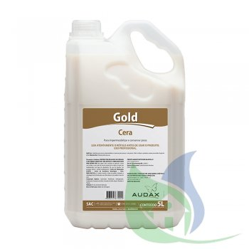 GOLD Cera Impermeabilizante Incolor 5L - AUDAX CO.
