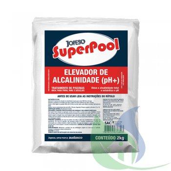 Super Pool Elevador De Alcalinidade 2Kg - AUDAX CO.