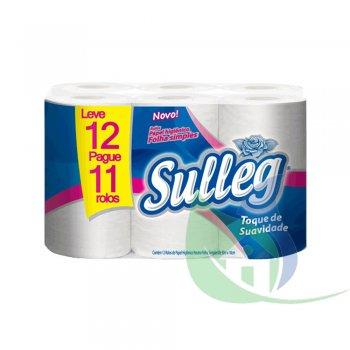 Papel Higiênico Folha Simples 30m - Leve 12 Pague 11 - SULLEG