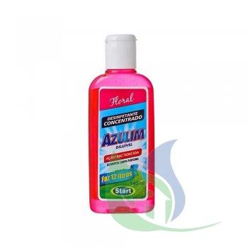 Desinfetante Azulim Diluível 140ml Floral - Start (Faz 12 Litros)