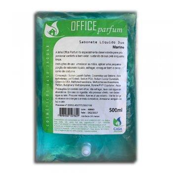 Refil Sabonete Líquido Office Parfum DUO Marine 500ML - Casa Jaguar