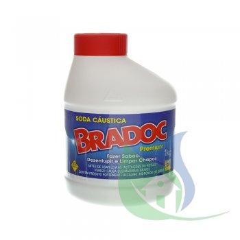 BRADOC SODA CAÚSTICA 1KG - NOBEL