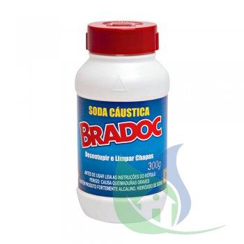 BRADOC SODA CAÚSTICA 300G - NOBEL