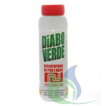 Desentupidor Químico Diabo Verde Granulado 300 G