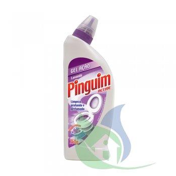 Pinguim Higienizador Sanitário Lavanda 750g - NOBEL