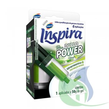 INSPIRA Gel Duplo Power Citrus 50g - LIMPPANO