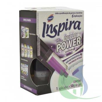 INSPIRA GEL DUPLO POWER LAVANDA 50G - LIMPPANO