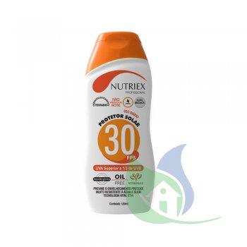 Protetor Solar 30 FPS 1/3 Uva 120ml - NUTRIEX