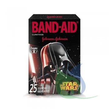 BAND AID STAR WARS CAIXA COM 25 UN- JOHNSON & JOHNSON