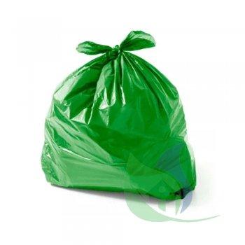 Sacos Para Lixo Verde 100L P55 Pacote Com 35 Un - ROGEVA