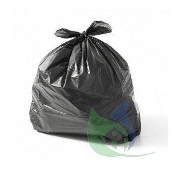 Sacos Para Lixo Preto 60L P40 Pacote Com 50 Un - ROGEVA